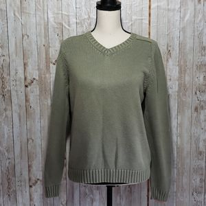 Lands' End crew neck  pullover sweater